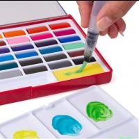 Aquarellfarben 36 kräftige Wasserfarben Set für Künstler und Profis