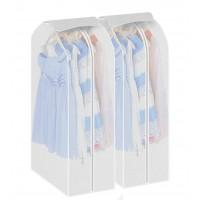 2 Stk. Kleidersack Set Kleiderschutzhülle Kaufen PEVA umweltfreundlich Anzugsack mit Reißverschluss