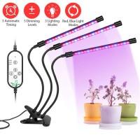 Pflanzenlicht Pflanzenlampe LED Wachstumslampe Grow Light Dimmbar 27W
