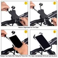 Handyhalterung Handyhalter Outdoor drehbar für Motorrad Fahrrad