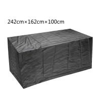 Schutzhülle Abdeckung Abdeckplane Rechteckig für Gartenmöbel Set 420D