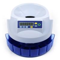 Münzzähler Geldzählmaschine Münzzählmaschine Münzsortierer blau