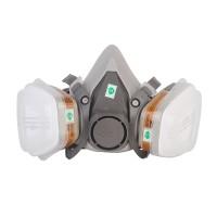 Atemschutz Halbmaske Halbmaskenkörper Atemschutzmaske Set Grau