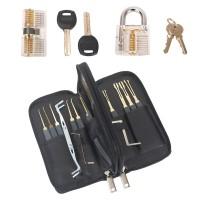Lockpicking Lock Pick Vorhängeschlösser 31pcs mit Tasche für Anfänger