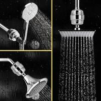Wasserfilter Duschfilter Shower Filter 10-Schichten für Duschkopf