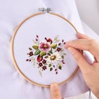 Embroidery tool Stickerei Starter Kreuzstich Stricken 50 Stück Set