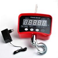 Kranwaage Elektronische Waage für Kran mit  LED, 1000 kg