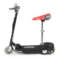 Elektroroller Elektro Scooter E-Roller mit Sitz, 12km/Std. Schwarz
