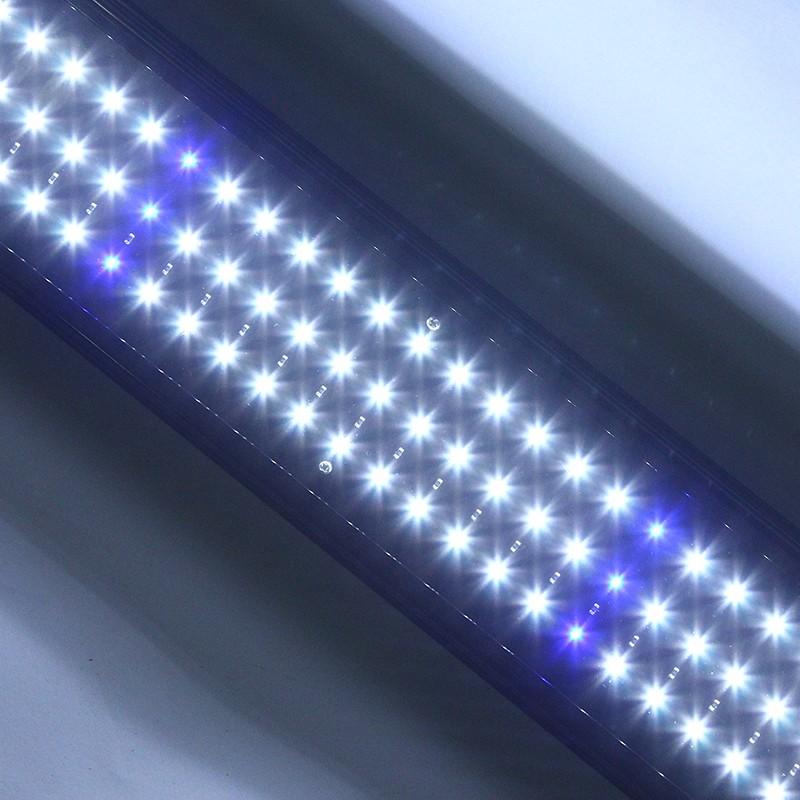 leuchte led aquarium 129 leds beleuchtung 8w 12v wasserdicht. Black Bedroom Furniture Sets. Home Design Ideas