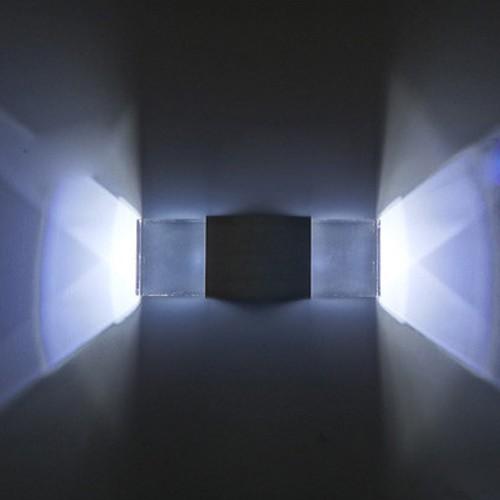 Wandleuchte led kaltweiss 2w flurlampe deckenlampe lampe for Flurlampe deckenlampe