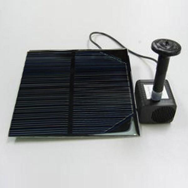 solar pumpe wasserspiel springbrunnen. Black Bedroom Furniture Sets. Home Design Ideas