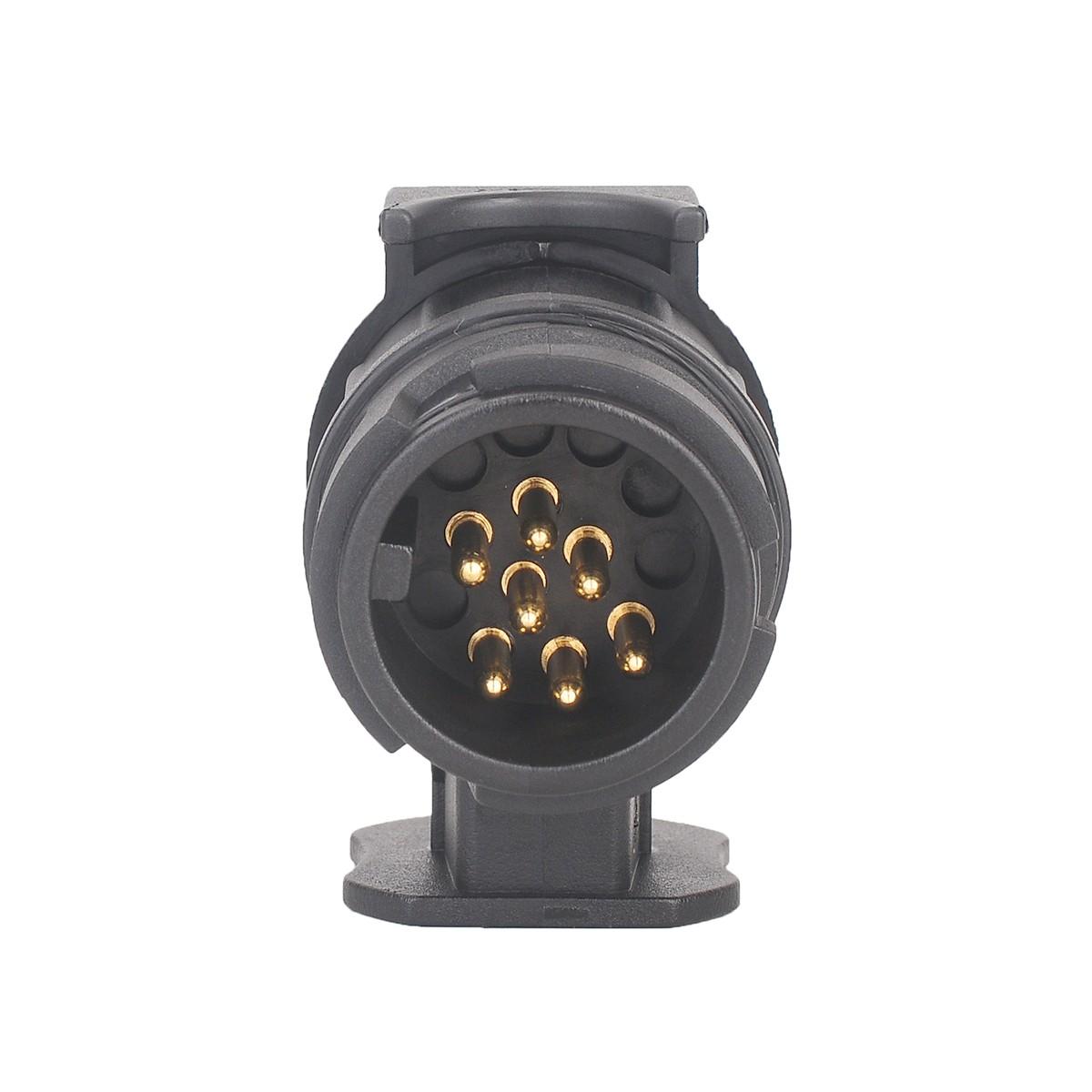 anh nger adapter anh ngerkupplung 13 pin auf 7 schwarz f r. Black Bedroom Furniture Sets. Home Design Ideas
