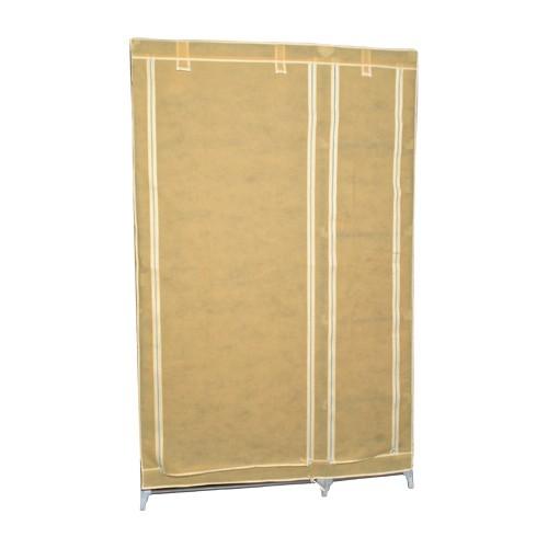 garderobenschrank kleiderschrank stoff campingschrank 177cm. Black Bedroom Furniture Sets. Home Design Ideas