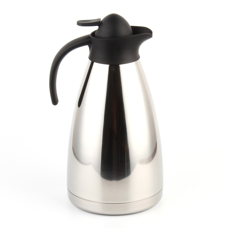 thermoskanne 1 5 liter edelstahl w rmehaltung mit abnehmbarem deckel. Black Bedroom Furniture Sets. Home Design Ideas