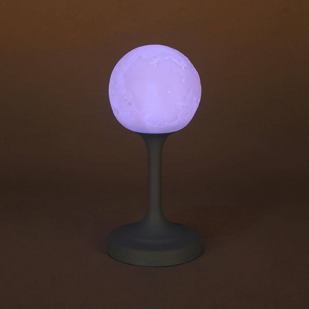 LED Mond Lampe Mondlicht mit Touch Sensor USB Wiederaufladbar als Deko   365buy.ch