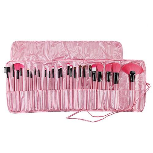 Make Up Pinsel Set Schweiz 24tlg Kosmetik Pinselset 365buych