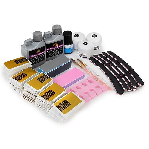 nail art set g nstig 18 tlg nagel starter set. Black Bedroom Furniture Sets. Home Design Ideas