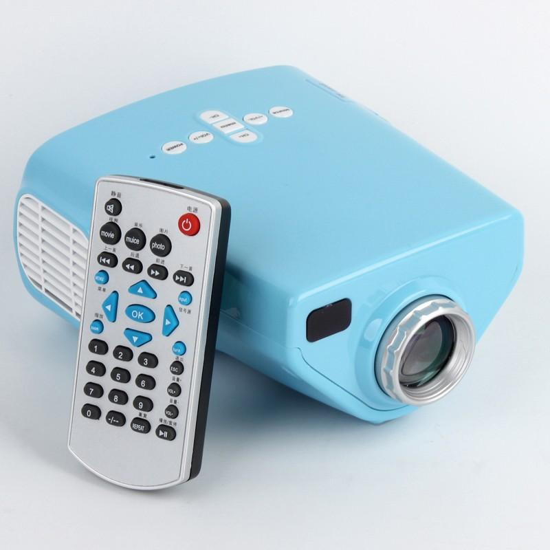 mini led beamer 16w 1080p heimkino projektor hdmi f r kinder. Black Bedroom Furniture Sets. Home Design Ideas