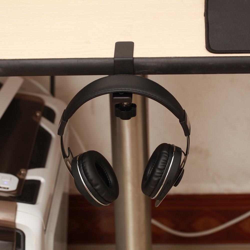 kopfh rerhalter mit tischklammer h nger desk headphone. Black Bedroom Furniture Sets. Home Design Ideas